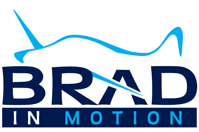 Brad in Motion Logo