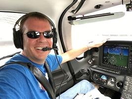 Brad Pierce Cirrus Cockpit
