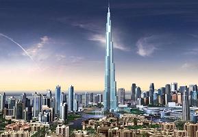 Dubai UAE Downtown Artwork