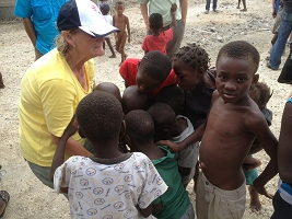 Haiti Relief Flight Kids Camera