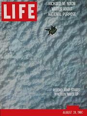 Joe Kittinger - Life Magazine Cover